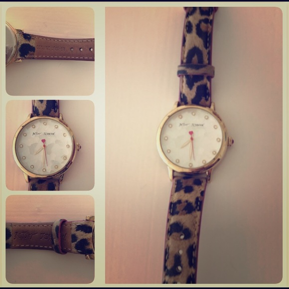 Betsey Johnson Accessories - Betsey Johnson Leopard Watch